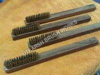 Brass Wire Wooden Brush