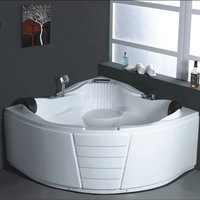 Acrylic Bathtub with Massage Jacuzzi System