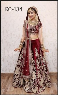 Ladies Party Wear Lehengas