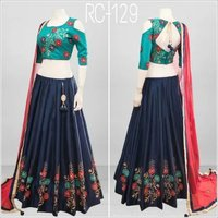 Traditional  Lehenga Choli With CAN-CAN