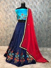 Traditional Deep Red Lehenga