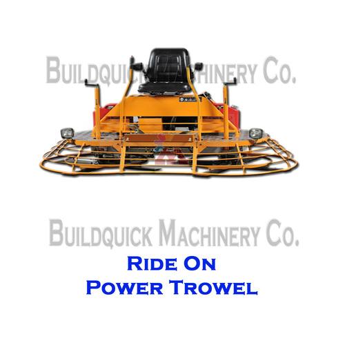 Ride On Power Trowel