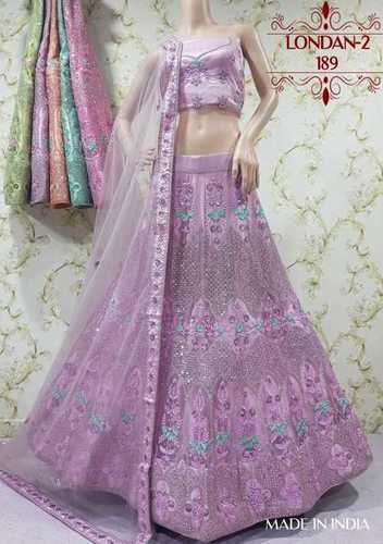 Ladies Silk Bridal Lehenga