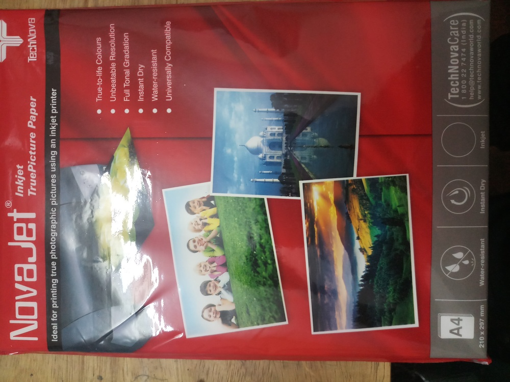 A4 Photo Glossy Sheets