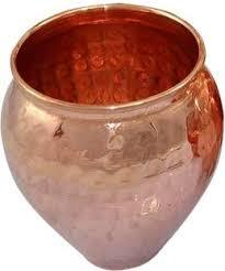 Copper Matka Design Glass