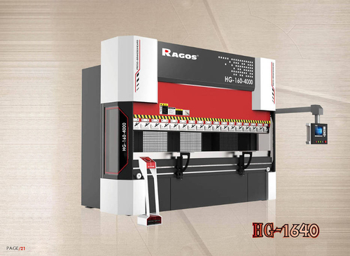 Upper drive electro-hydraulic servo bending machine - Upper