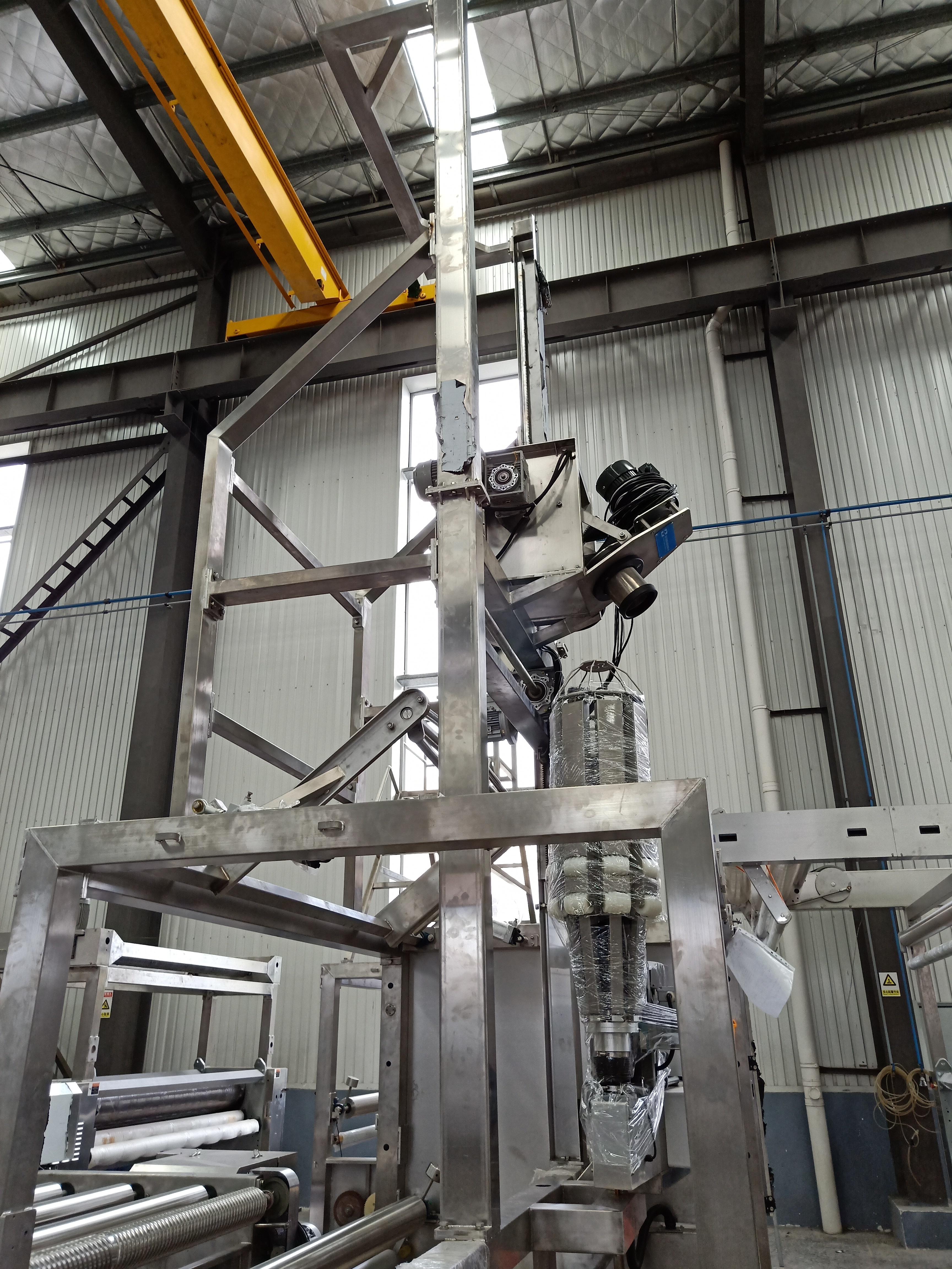 Fabric Rope Opening Machine