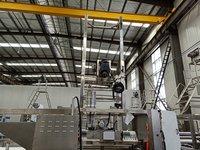 Steel Slitter Machine for Tubular Rib Knit Fabric