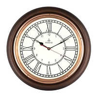 16 Inch Copper Antique wall Clock