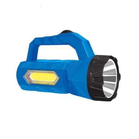 Handy Rechargable LED Torch with COB Lamp