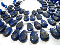 Blue Lapis Oyster Copper Turquoise Pear Shape  Beads