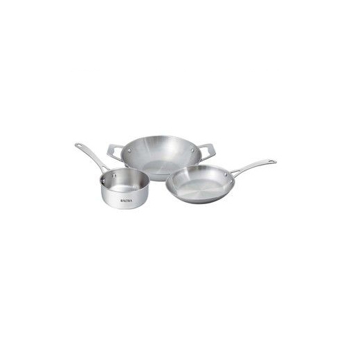 PLAIN BOTTOM S.S. COOKWARE