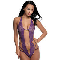 Sexy Purple Ladies Nightwear