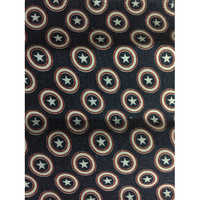 Twill Print Pocketing Fabrics Captain America Star