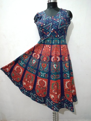 Traditional Jaipuri Short Frock