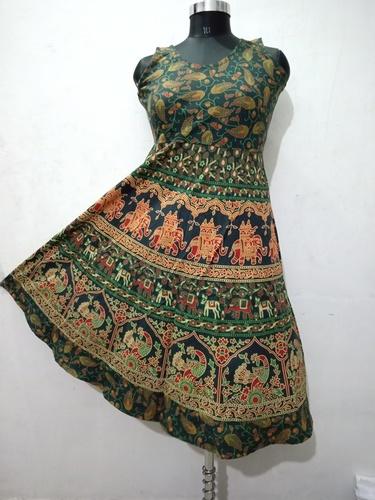 Jaipuri Short Frock