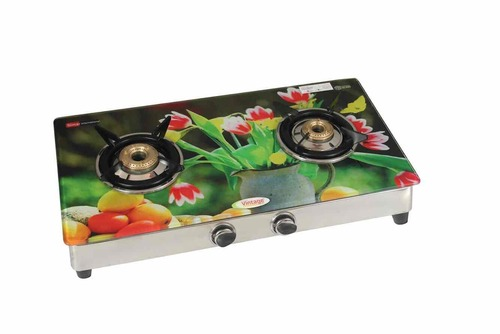 2 burner 237 digital glass segment (flower pot)