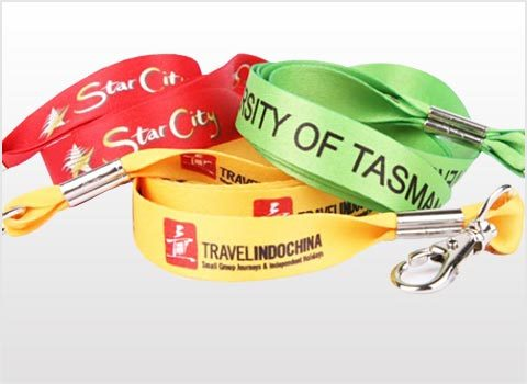 Standard Satin Lanyards
