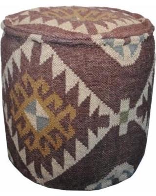 Designer Upholstered Puff