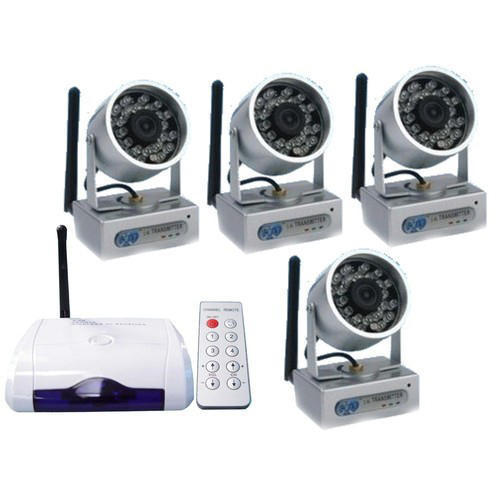 Wireless CCTV Surveillance System