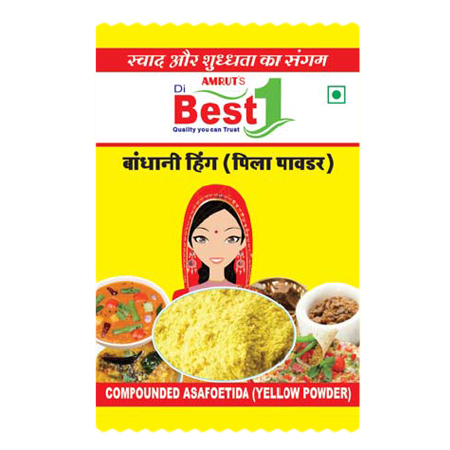 Compounded Asafoetida Yellow Powder