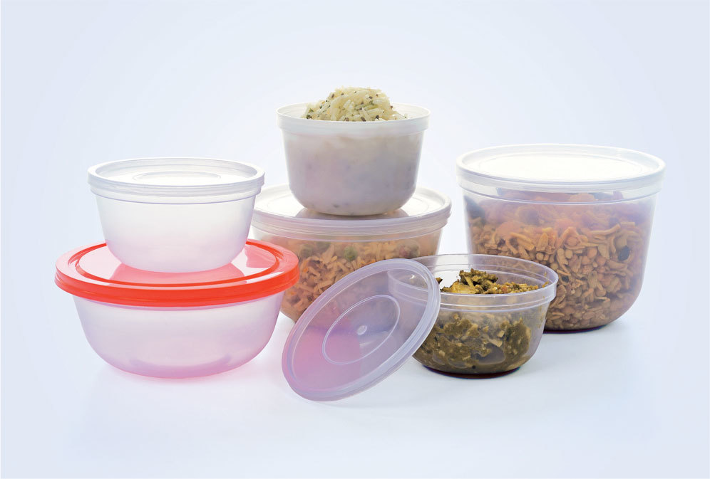 Bowl Type Plastic Container