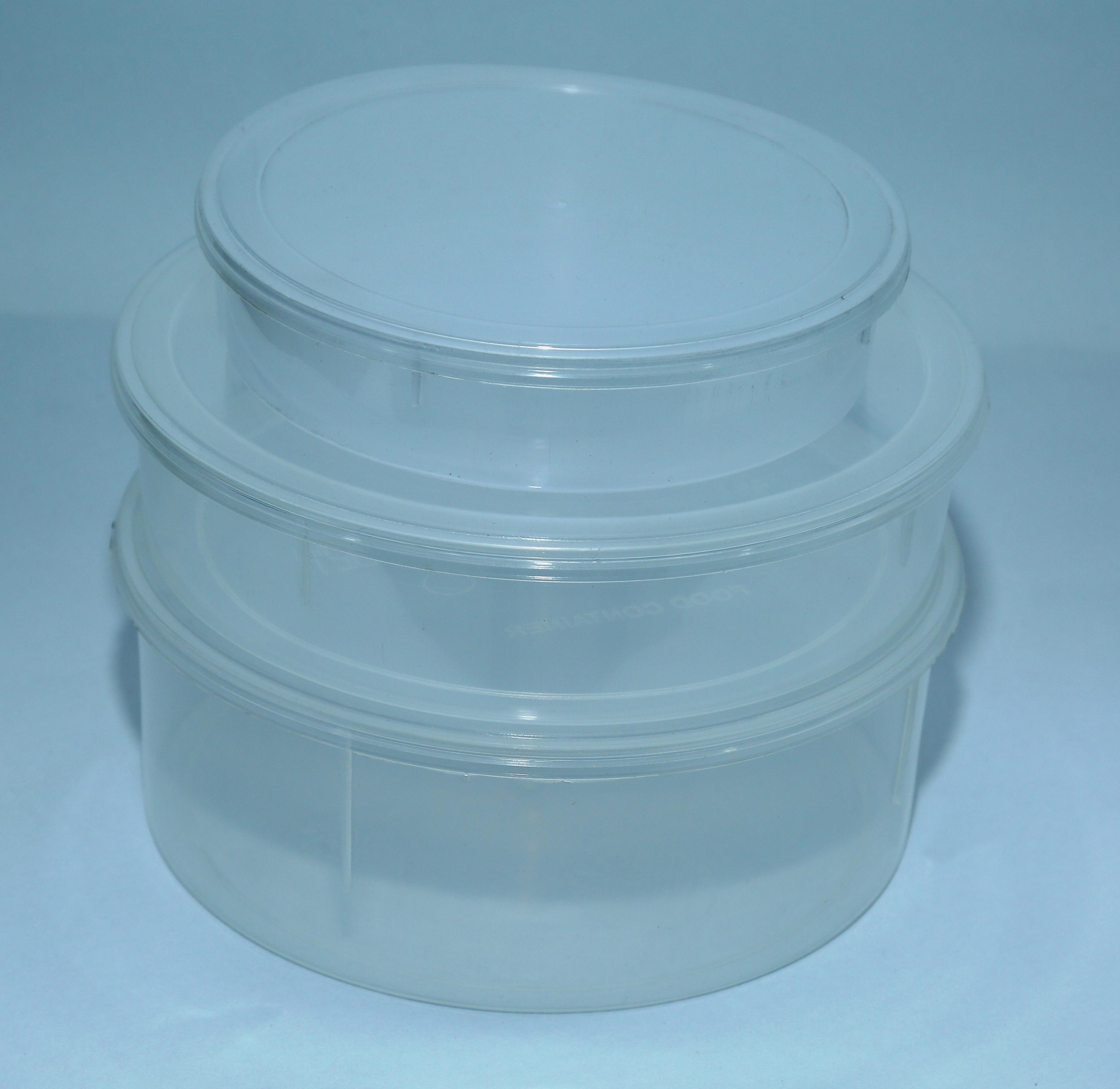 Khakhara Plastic Container