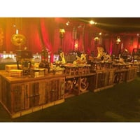Wooden Buffet Counter