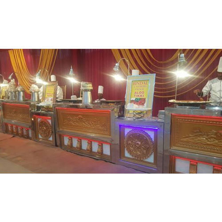 Aloo Chaat Catering Counter