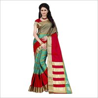 Cotton Silk Saree With Lining Shade