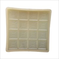 Chequered PVC Brick Moulds