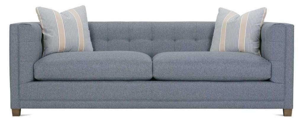 Tufted Back Fabric Sofa