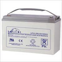 100ah  10hr Leoch Battery