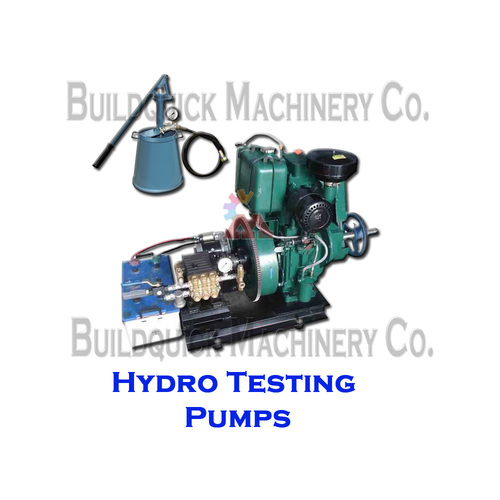 Hydro Testing Pump