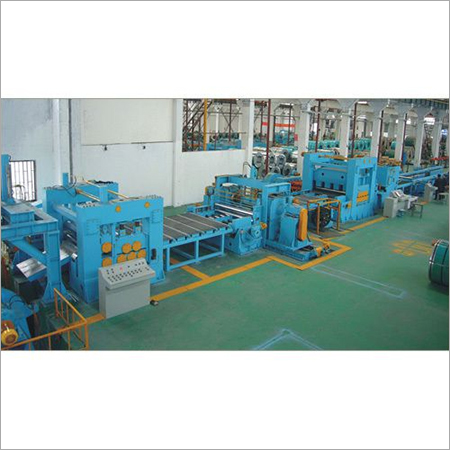 Heavy Gage Steel Cut to Length Line