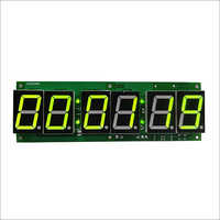 Digital Clock Card