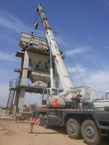 Asphalt batch mix plant equipment