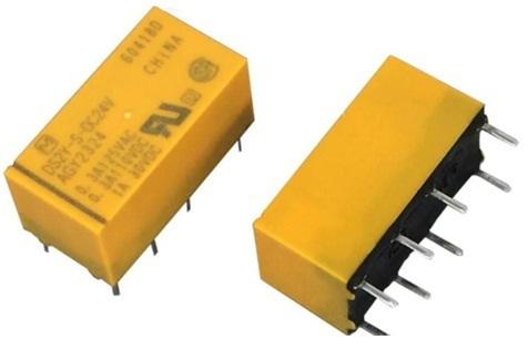 Low Signal Relays - Pcb 2a 24vdc Dpdt Sealed Ds2y-dc24v