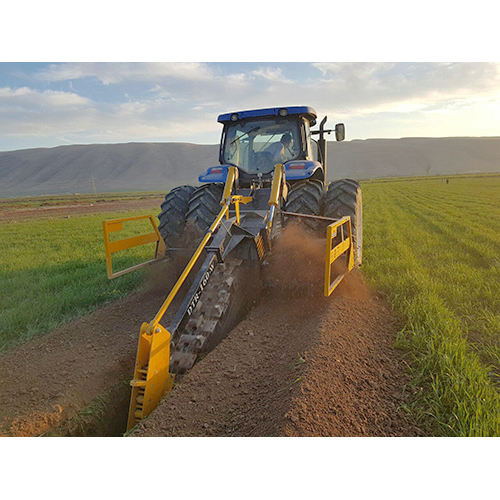 Wide Channel Digging Trencher