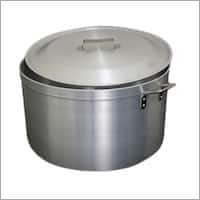 Aluminium Heavy Bottom Casseroles