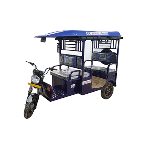 Blue E Rickshaw