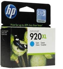 HP 920XL CYAN INK CATRIDGE (CD972C)