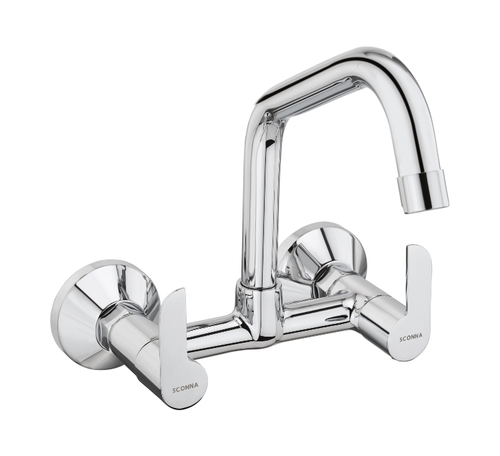 Extended Sink Mixer With Swivel Spout