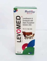 Levofloxacin & Ornidazole with alpha Tocopherol Solution