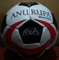 Football Anurupa Black and White