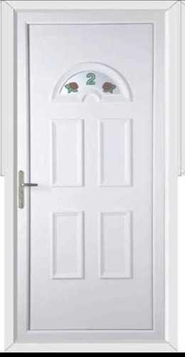 Plain UPVC Door
