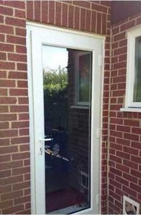 Security UPVC Door