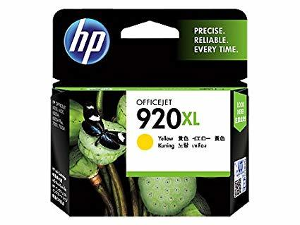 HP 920XL YELLOW INK CARTRIDGE (CD974Y)