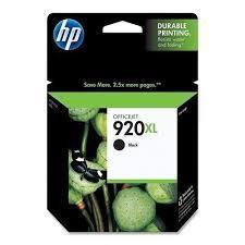 HP 920XL BLACK INK CARTRIDGE (CD975AA)