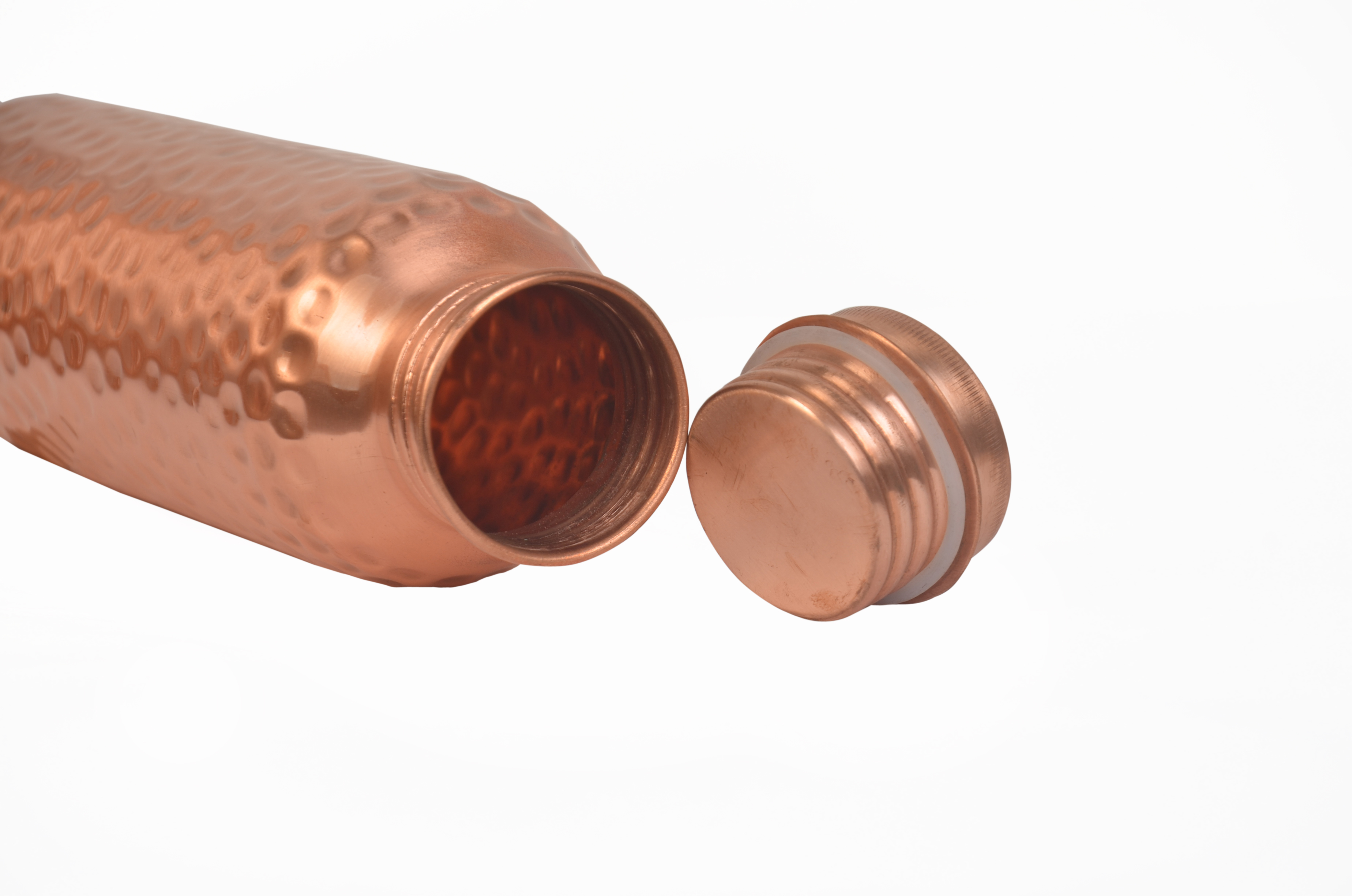 CopperKing Pure Copper Hammered Bottle